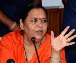 Uma Bharti's press conference