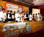 BJP leader launches manifesto for GHMC elections
