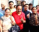 2019 Lok Sabha polls - Phase VI -  Harsh Vardhan