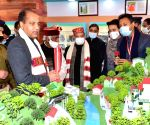 Free Photo: Union Minister Jai Ram Thakur of State for Finance and Corporate Affairs during the inauguration of exhibition put up by various departments on Golden Jubilee of the Statehood at The Ridge Shimla