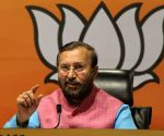 Union Minister Javadekar tests positive for Covid