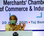 Union Minister of Finance and Corporate Affairs, Nirmala Sitharaman at Special Session organised by Merchants' Chamber of Commerce & Industry (MCCI) at City Hotel in Kolkata