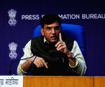 Union Minister of Health and Family Welfare Mansukh Mandaviya address press conference on PM Ayushman Bharat Health Infrastructure Mission in New Delhi. Source : IANS_DL_RPT