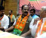 Ramesh Jigajinagi  during a BJP programme