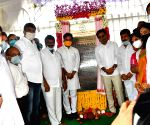 G. Kishan Reddy, KT Rama Rao lay foundation stones for development projects