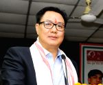 Athletes should be given a higher pedestal in society, says Rijiju