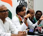Shashi Tharoor's press conference
