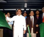 Kolkata: Adhir Ranjan Chowdhury flags-off an additional rake of Kolkata Metro Railway