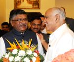 Ravi Shankar Prasad during an interactive meeting
