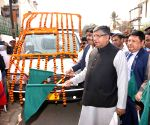 Ravi Shankar Prasad flags off mobile vans to create awareness on 'Digital and financial literacy for everyone' initiative