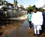 Ravi Shankar Prasad takes stock of water accumulation amidst fears of Dengue outbreak