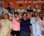 BJP's Lok Sabha candidates at party's headquarter