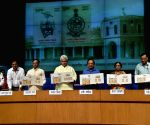 Commemorative stamp released on 250 years of Survey of India