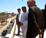 V. Muraleedharan pays inspection visit to sites of Lusaka De-Congestion Project in Zambia