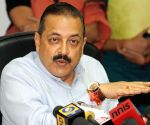 Jitendra Singh's press conference