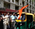 World No Tobacco Day' - Anupriya Patel flags off Auto rally