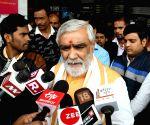 Ashwini Kumar Choubey at Patna Airport
