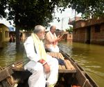 Ashwini Kumar Choubey visits flood-affected areas of Bihar