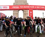 Kiren Rijiju flags off Cyclothon