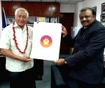 MoS Tribal Affairs Bhabhor meets Samoa's acting PM and Health Minister