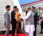 Indonesian President arrives in Delhi