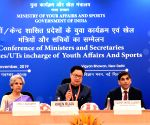 Kiren Rijiju at Conference of Ministers and Secretaries of States/UTs for Youth Affairs and Sports