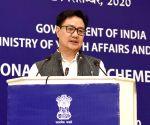 Rijiju to deliver inaugural address at FICCI TURF 2020