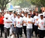 Piyush Goyal participates in 'Run for Unity