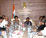 Piyush Goyal, Dharmendra Pradhan meet Steel Manufactures' Association