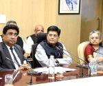 Piyush Goyal chairs review meeting on COVID-19