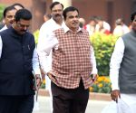 BJP leaders arrive to attend party's Parliamentary Meeting
