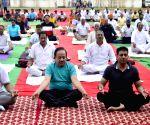 International Yoga Day - Harsh Vardhan