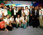 Indian Contingent for Rio Olympics 2016 sendoff ceremony