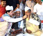 Iftar party - Ravi Shankar Prasad, Sushil Kumar Modi, Syed Shahnawaz Hussain