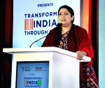 "Smriti Irani at ""Transforming India through Retail Awards"