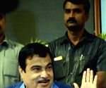 Gadkari inaugurates renovated BSE International Convention Hall