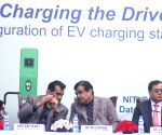 Gadkari inaugurates EV charging station at NITI Ayog