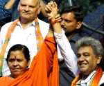 WBLA Polls - Uma Bharati campaigns for BJP