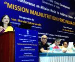 National Conference on Mission Mode to address Under-Nutrition - Maneka Gandhi
