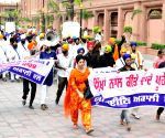 United Akali Dal's demonstration