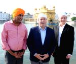 Jason Kenney, Alberta MLA's visit Golden Temple