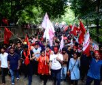 Left sweeps JNUSU polls, students take out victory march