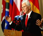 UN VENEZUELA U.S. MIKE PENCE PRESS ENCOUNTER