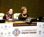 UN-GENERAL ASSEMBLY-INT'L YEAR OF INDIGENOUS LANGUAGES-LAUNCH