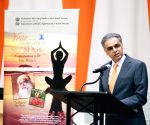 United Nations: Syed Akbaruddin and Sadhguru Jaggi Vasudev  speaks at a program