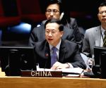 UN-SECURITY COUNCIL-MIDDLE EAST-CHINA-ENVOY