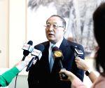 UN CHINA NEW AMBASSADOR PRESS BRIEFING