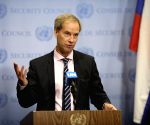 UN SECURITY COUNCIL OLOF SKOOG YEMEN PRESS ENCOUNTER