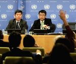 UN-DPRK-KIM IN RYONG-PRESS CONFERENCE