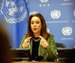 UN WMO REPORT NEWS CONFERENCE